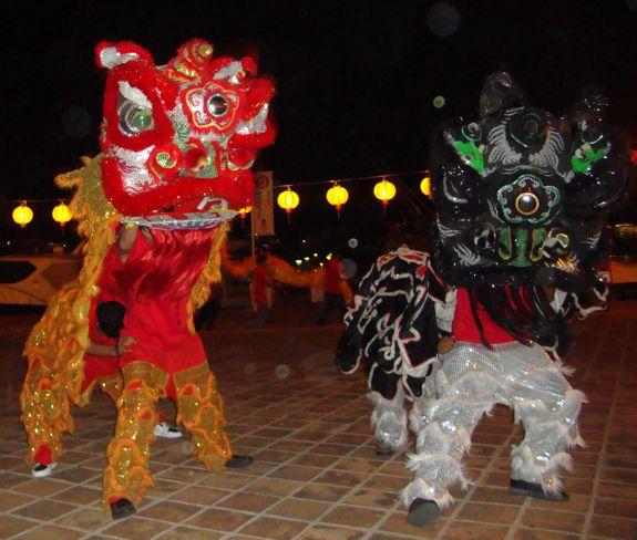 dancing dragons chinois