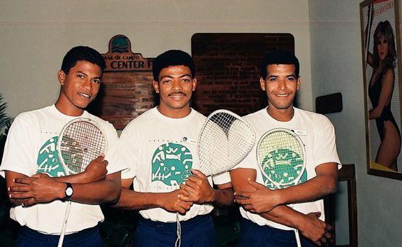 06 Racquetball teachers - casa de campo living