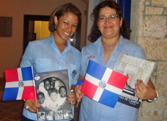 Fundacion MIR, noche dominicana, casa de campo living