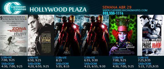 movies hollywood plaza santo domingo