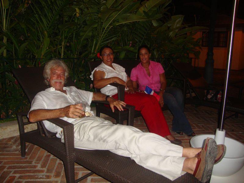 the dedon lounge, noche dominicana casa de campo living