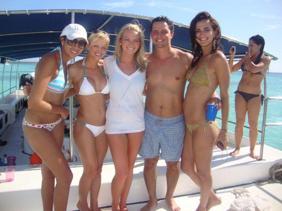 Nikki beach, miami dolphin cheerleaders, casa de campo living