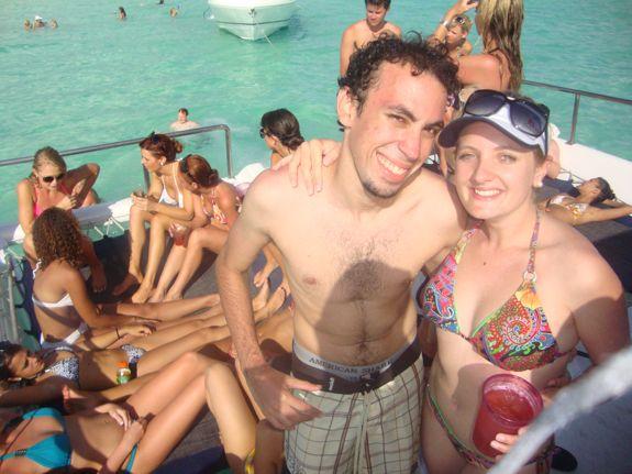 me and gabriel, miami dolphin cheerleaders, casa de campo living