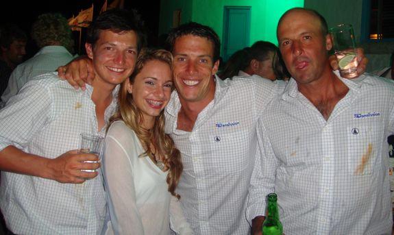 rolex farr 40, prize giving at the victory club, marina casa de campo