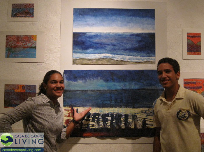 abraham lincoln school art exhibit at the altos de chavon gallery