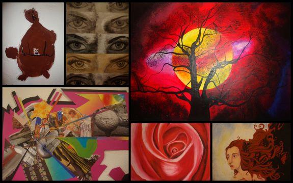 abraham lincoln school art exhibit in altos de chavon