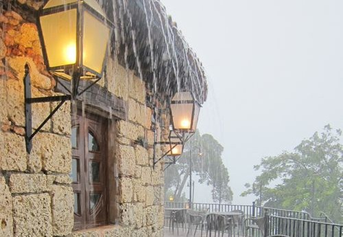 rain altos de chavon