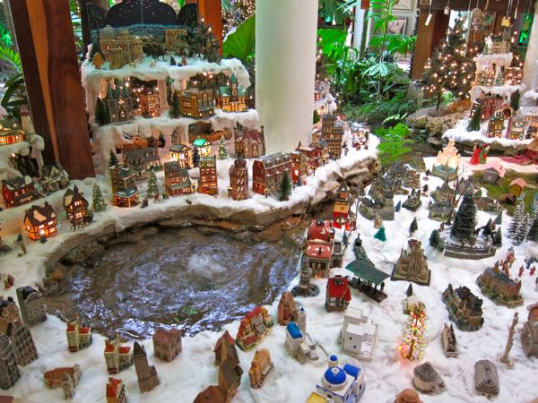 christmas miniature village