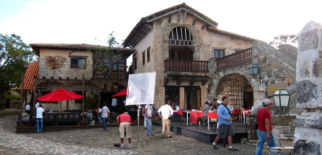filming altos de chavon