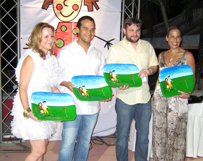 prize giving ceremony casa de campo