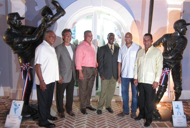 salon de la fama del beisbol latino fan cave marina casa de campo