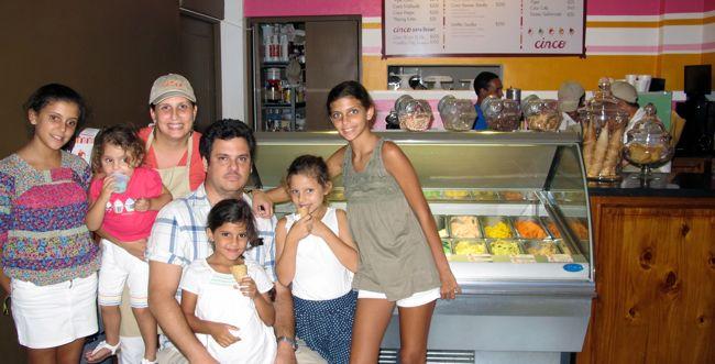 cinco gelato