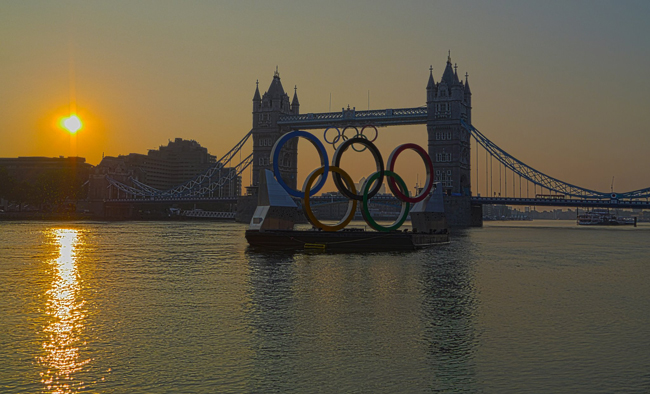 london bridge olympics 2012