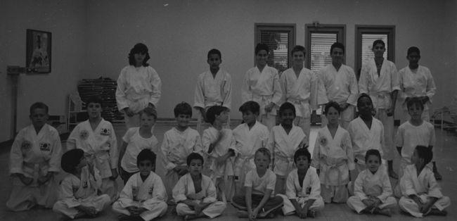 Taekwondo Classes in 1988