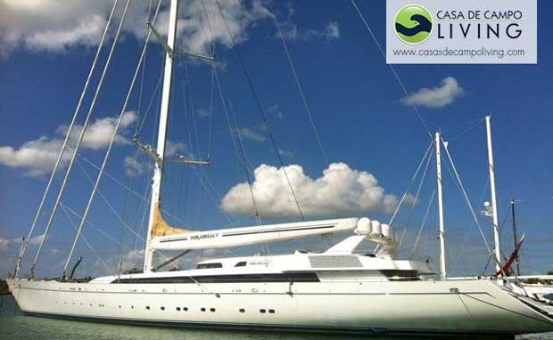 mirabella V sailing boat