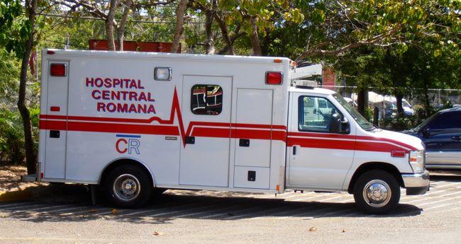 ambulance central romana hospital
