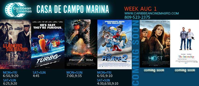 La Marina Movies and Times