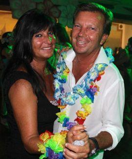 Gabriela and Roberto Roncari Luau Marty Marina Casa de Campo