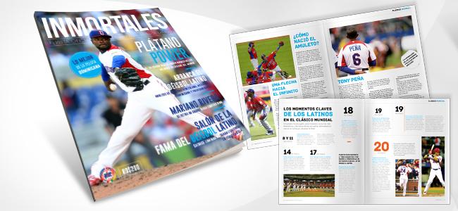 INMORTALES latino baseball magazine