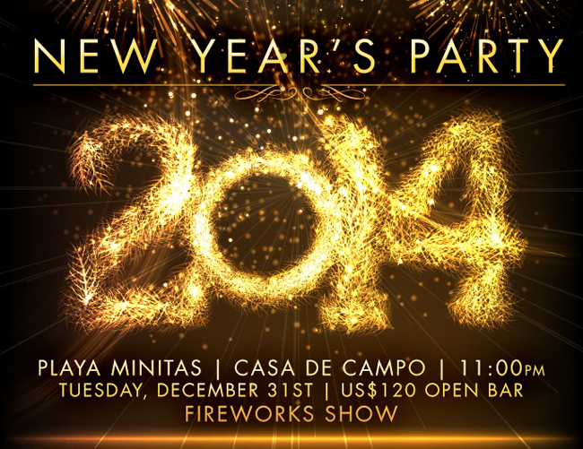 New Years Eve Minitas Beach Casa de Campo