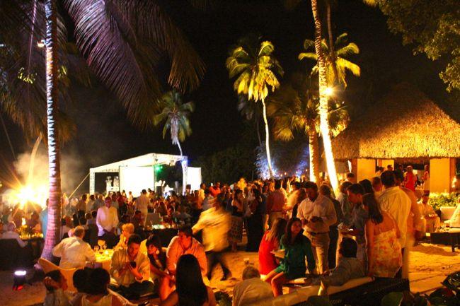 Casa de Campo villa owners duenos beach party