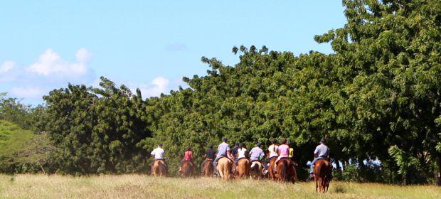 Casa de Campo villa owners duenos horse back riding