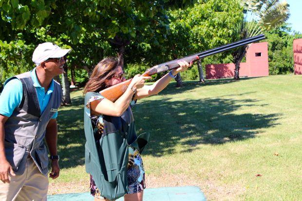 Casa de Campo villa owners duenos shooting