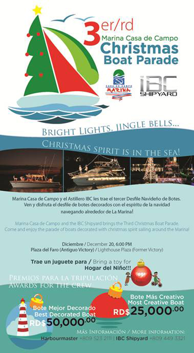 Christmas Boat Parade Marina Casa de Campo