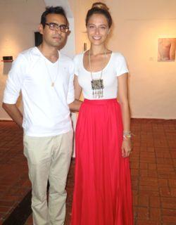 frank luna tatiana ortiz rubio The Gallery Altos de Chavon