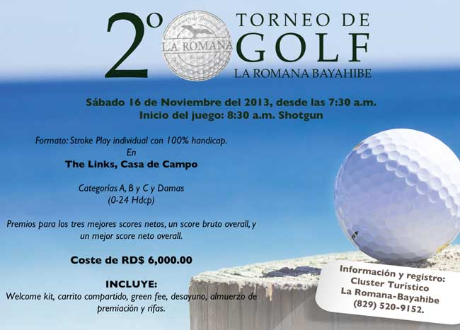 La Romana Bayahibe golf tournament