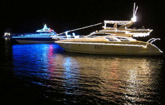 Marina Casa de Campo boat parade