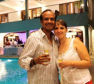 Bijai and Valeria Singh