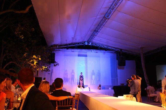 Angel Sanchez fashion show