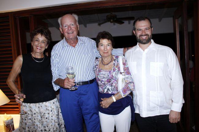 Renata and Peter Winterstein, Philip Silvestri Casa de Campo