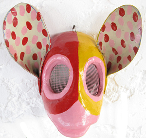 Dominican carnaval mask