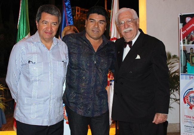 Teodoro Higuera and Roberto Weill