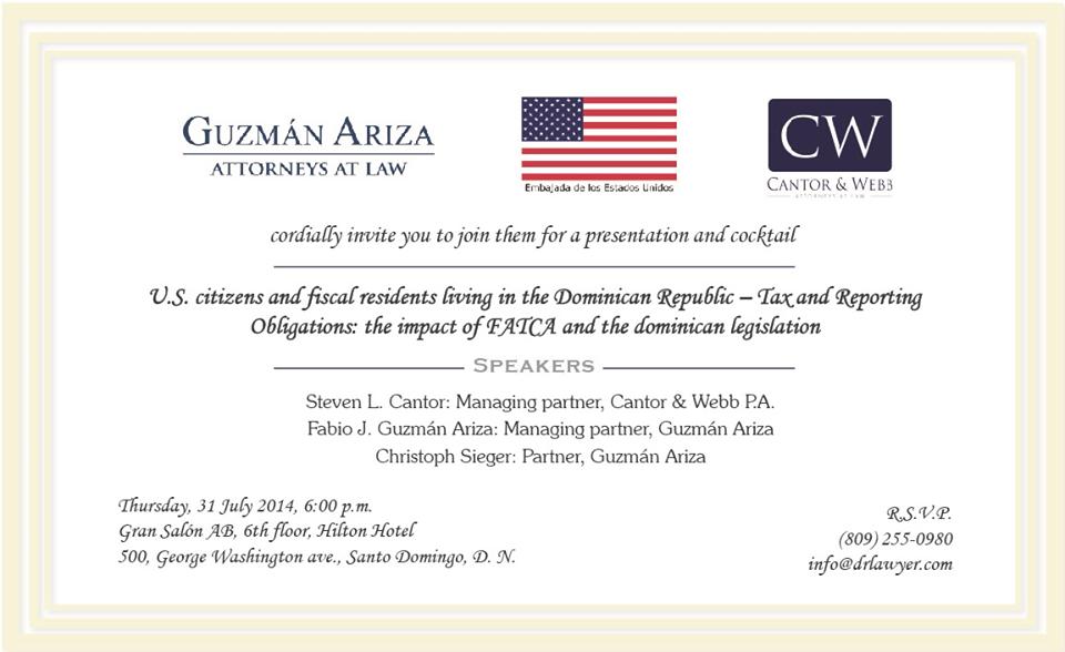 Guzman Ariza Cantor Webb law