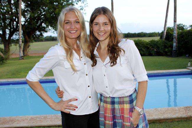 Jorien van der Meij and Viktorija Seijas