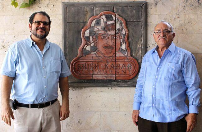 Juan and Elias Giha Shish Kebab