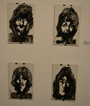 Wilfredo Torres Beatles Portraiture