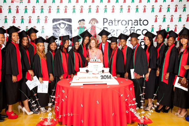 Xiomara Menéndez With the HDN Class of 2014