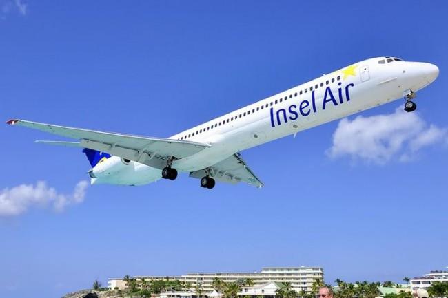 Insel Air Aircraft in Aruba