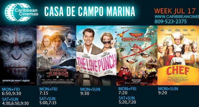 Marina Casa de Campo cinema
