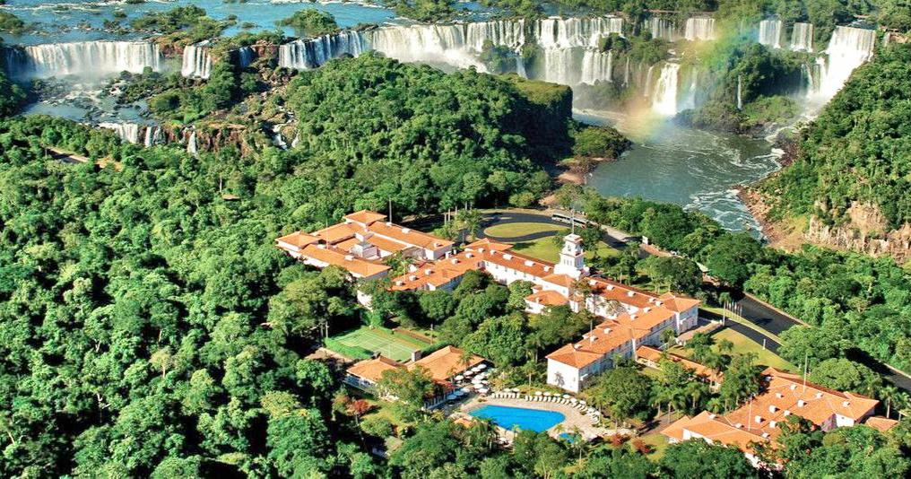 Iguasso Falls Brazil
