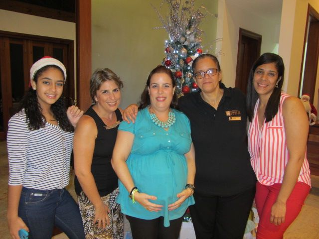 Maria Cotarelo, Ana Pereya, Baby Shower