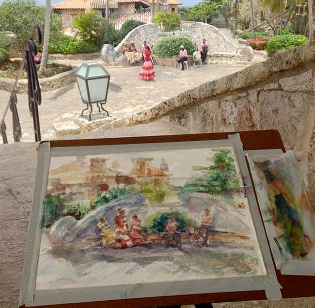 artist Altos de Chavon