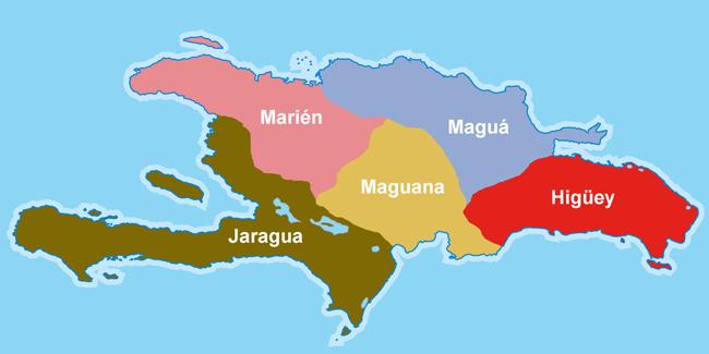 Cacicazgos de la Hispaniola