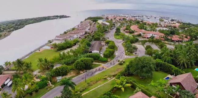 Casa de Campo aerial