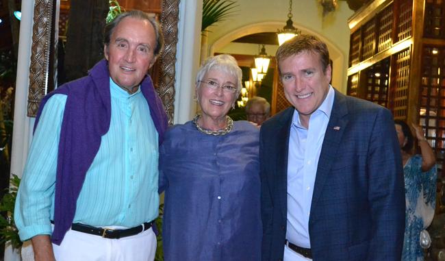 Rik Laird, Patricia Rambesek, Ambassador James Brewster