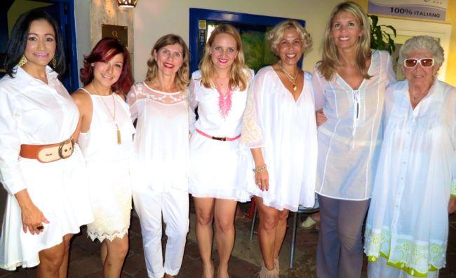 Rocio Caraballo, Lauren Llenas, Adriana Feaugas, Erika Vilain, Alessandra Avanzini, Mapi Avanzini